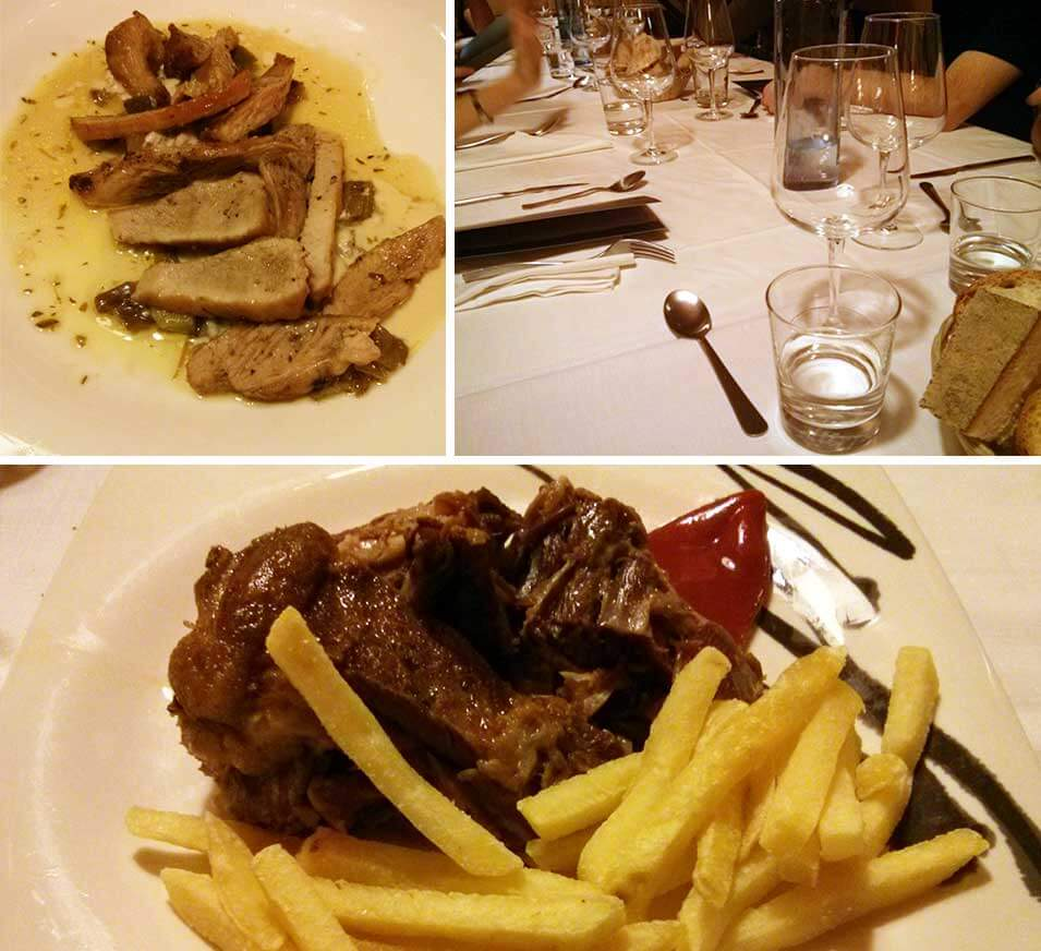 cena de grupo en León, Restaurante Picos de Europa