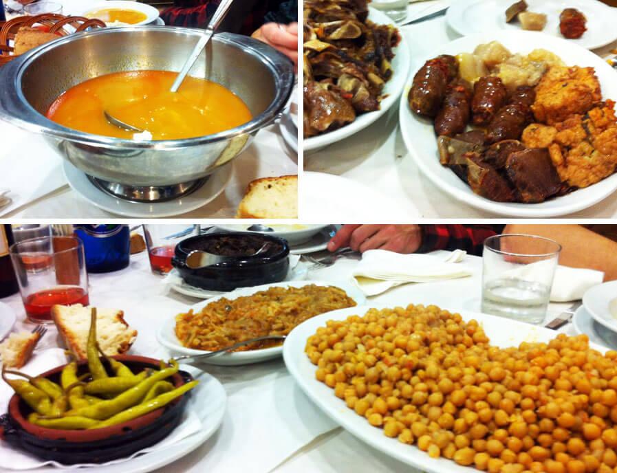 comida de grupo en León, Restaurante Sorrento