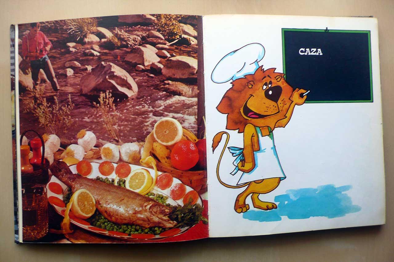 capítulo de recetas de caza del libro