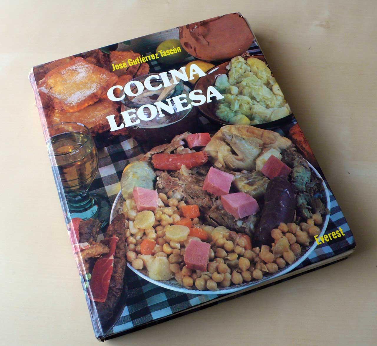 Portada del libro Cocina Leonesa de José Gutiérrez Tascón