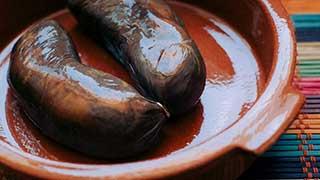 plato de morcilla de León