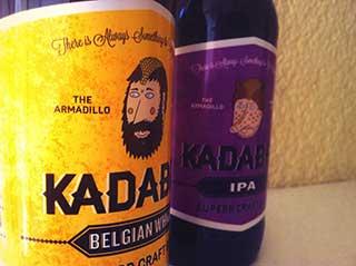 Botellas de cerveza leonesa Kadabra