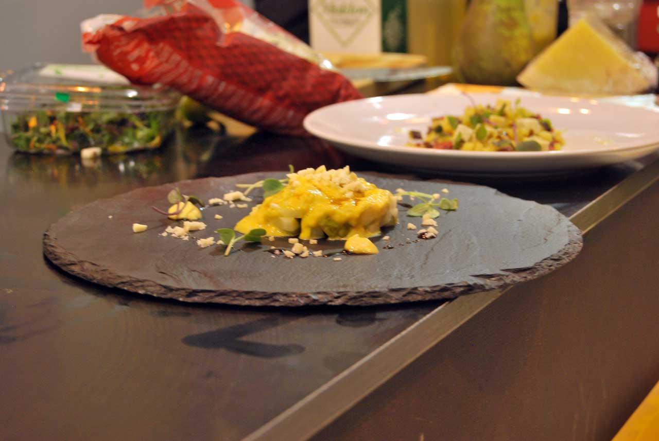 Platos cocinados con Pera Conferencia y Manzana Reineta del Bierzo
