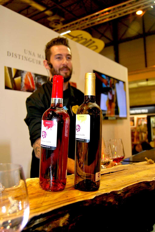 Peña con los Vinos Tierra de Leon-Salon Gourmets 2015