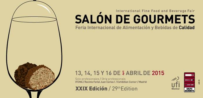 Cartel Oficial Salon Gourmtets 2015
