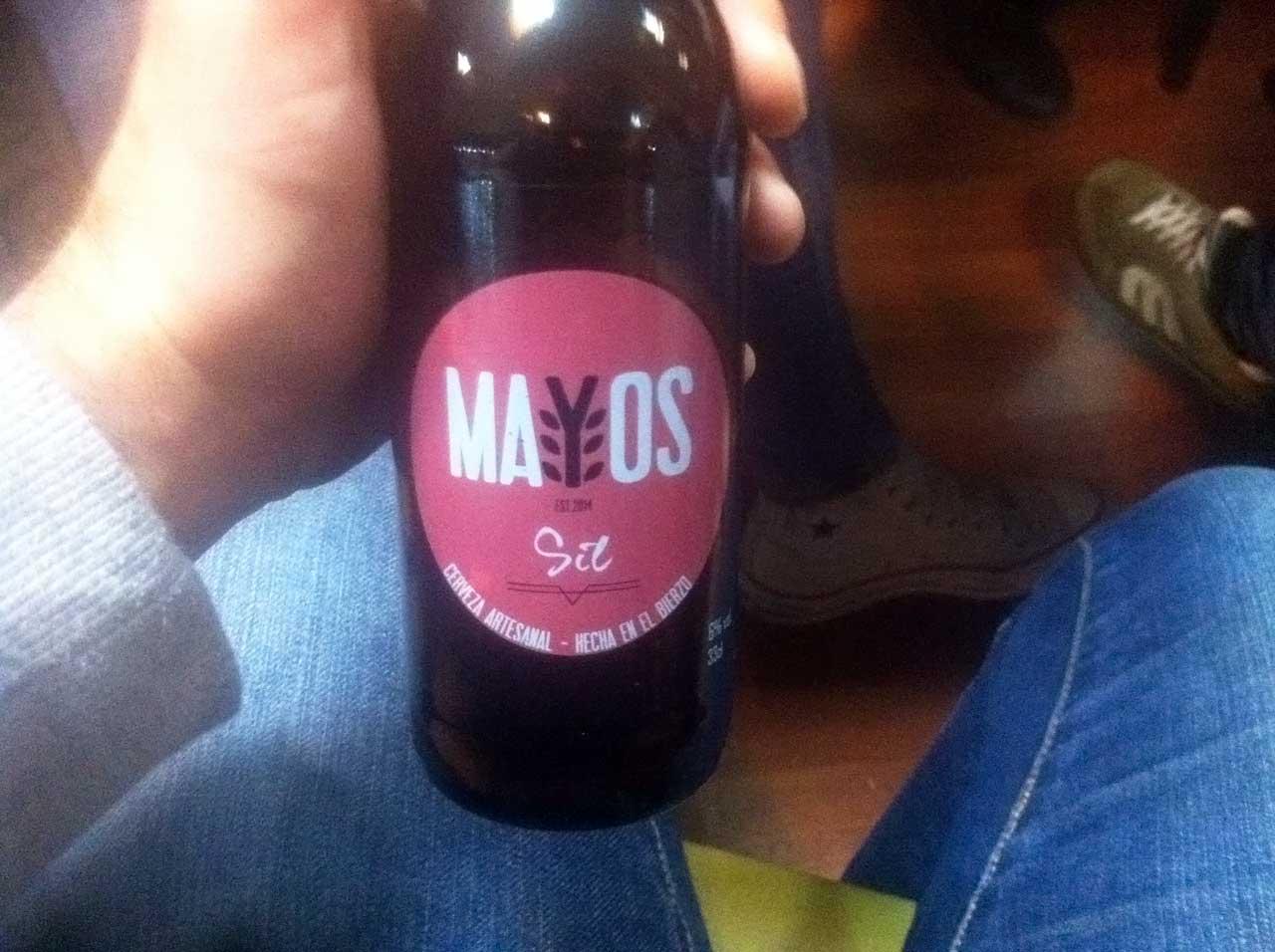 Cerveza Sil Red Ale de Mayos
