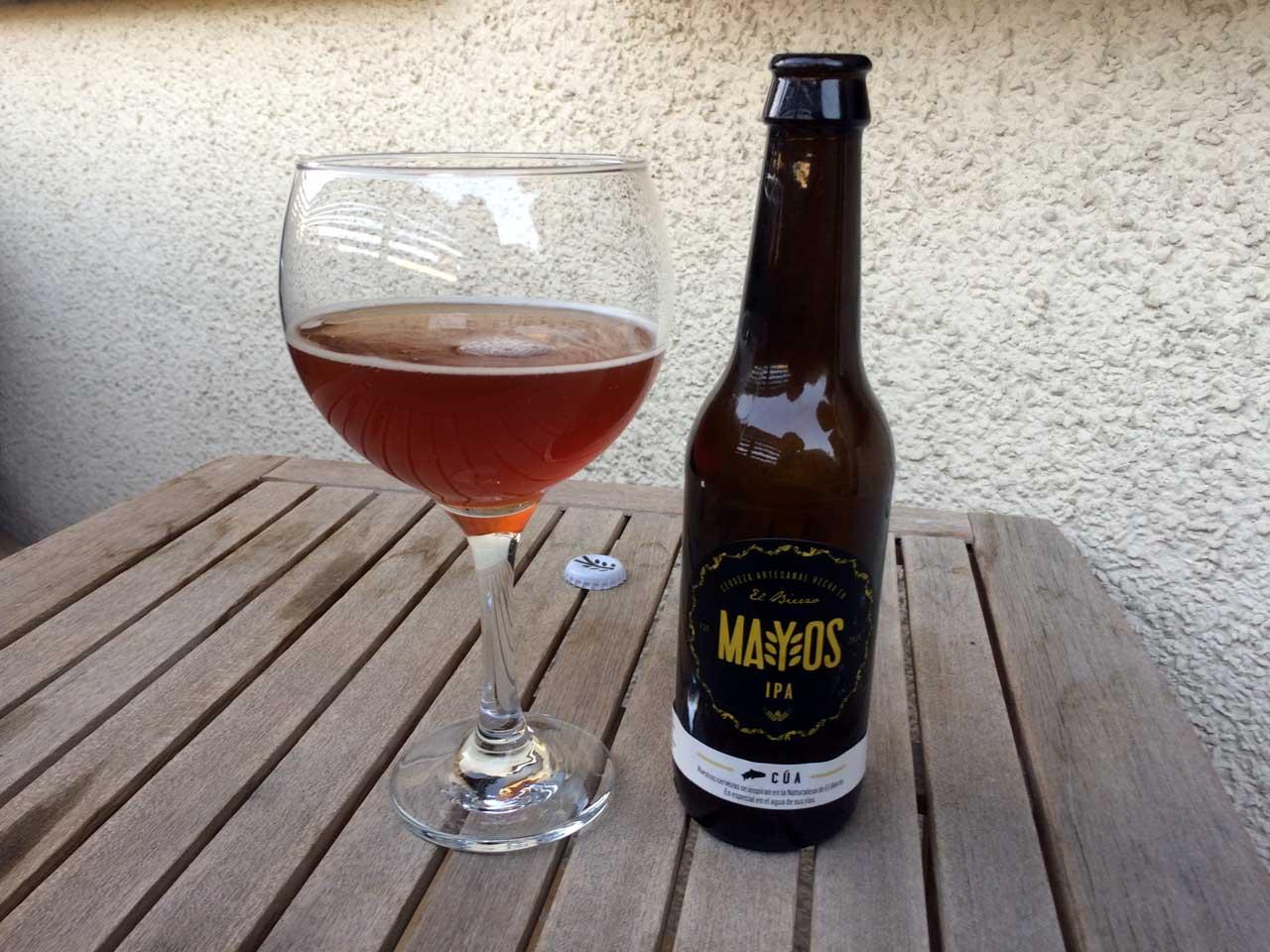 Cerveza Cúa Mayos