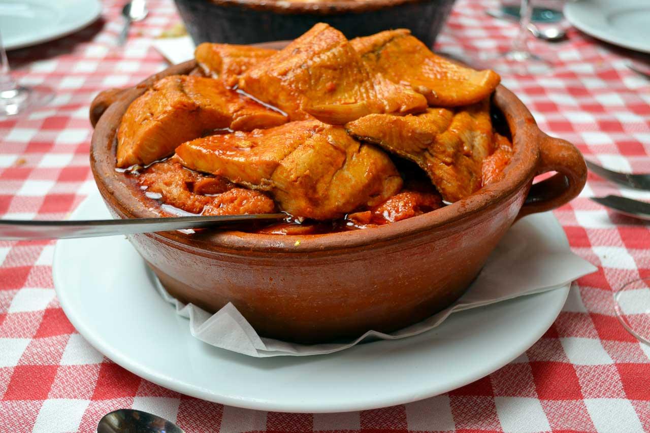 Sopa de truchas Restaurante la Encomienda