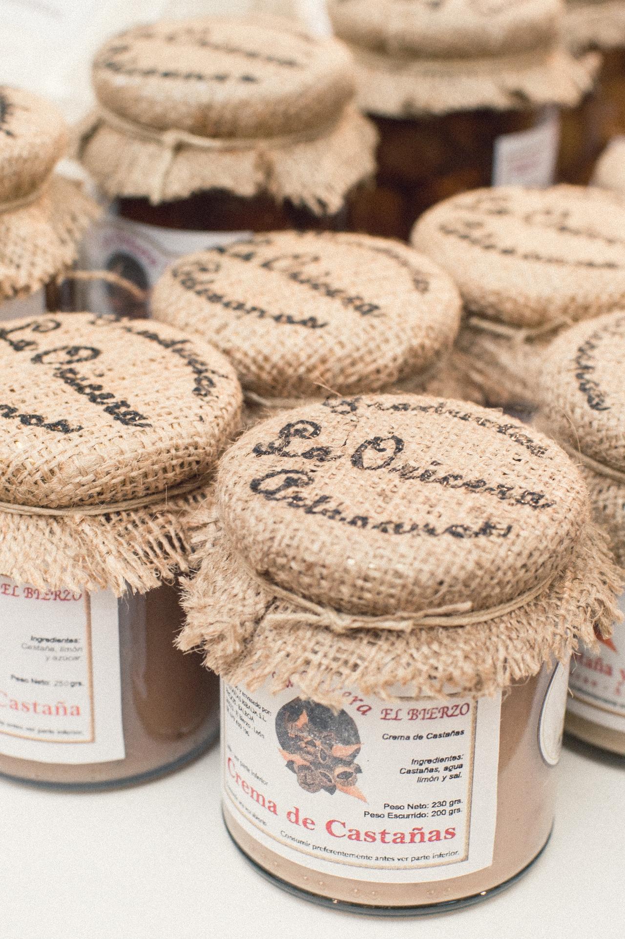 Feria de Productos de León Crema de Castañas La Oricera